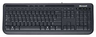 Microsoft Wired Keyboard 600 Black USB (черный)
