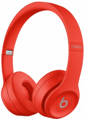 Beats Solo3 Wireless (красный)