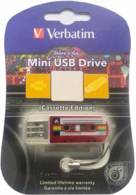 Verbatim Mini Cassette Edition 32Gb (красный)