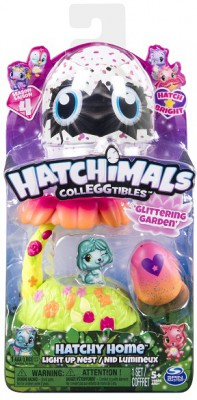 Hatchimals Домик-гнездо со светом Сад