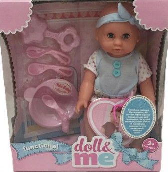S+S TOYS YL1707A Пупс DOLL&ME