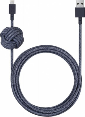Native Union Night Cable Apple 8pin 3м (индиго)