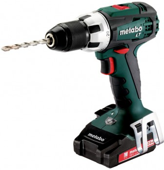 Metabo BS 18 LT Set (зеленый)