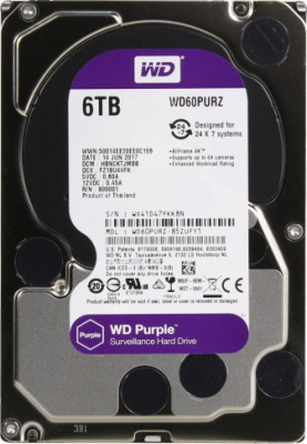 WD Video Purple 6Tb 3.5