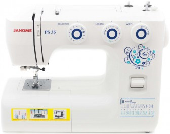 JANOME  PS-35 (белый)
