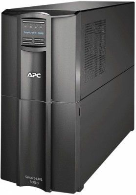 APC Smart-UPS SMT, Line-Interactive, 3000VA / 2700W, Tower, IEC, LCD, Serial+USB, SmartSlot
