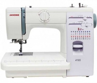 JANOME  419S (белый)