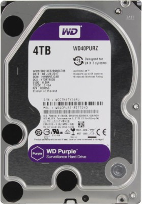 WD Video Purple 4Tb 3.5