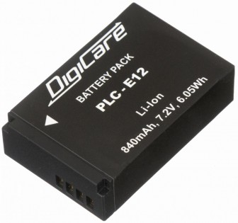 Digicare PLC-E12/LP-E12