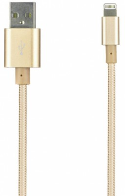 Prolife NL USB-Apple Lightning 8pin (золотистый)