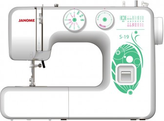 JANOME  S-19 (белый)