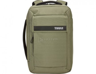 "Рюкзак-сумка 15,6"" Thule Paramount Convertible Backpack 16L, Нейлон, Olivine, Оливковый 3204220"