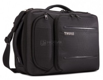 "Сумка-рюкзак 15.6"" Thule Crossover 2 Convertible Laptop Bag, Нейлон, Black, Черный 3203841"
