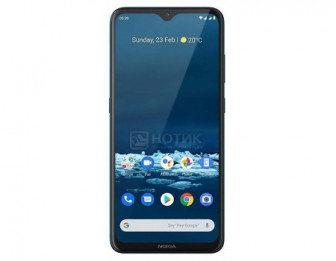 Смартфон Nokia 5.3 DS 4/64Gb Cyan (Android 10.0/SDM665 2000MHz/6.55