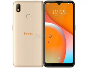 Смартфон HTC Wildfire E1 32Gb Gold (Android 9.0 (Pie)/MT6763 2000MHz/6.09