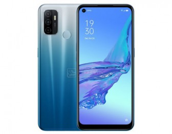 Смартфон OPPO A53 4/64Gb Fancy Blue (Android 10.0/SDM460 1800MHz/6.50